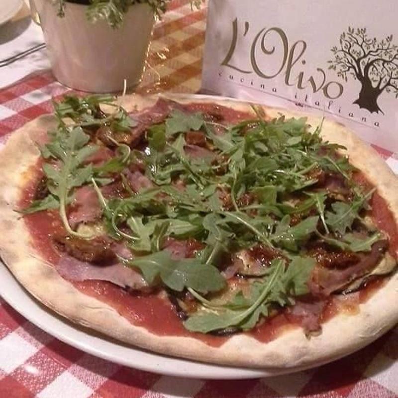 Pizzas: Carta de L'Olivo