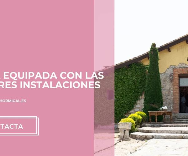 Alquiler de fincas para bodas en Madrid norte   Finca el Hormigal