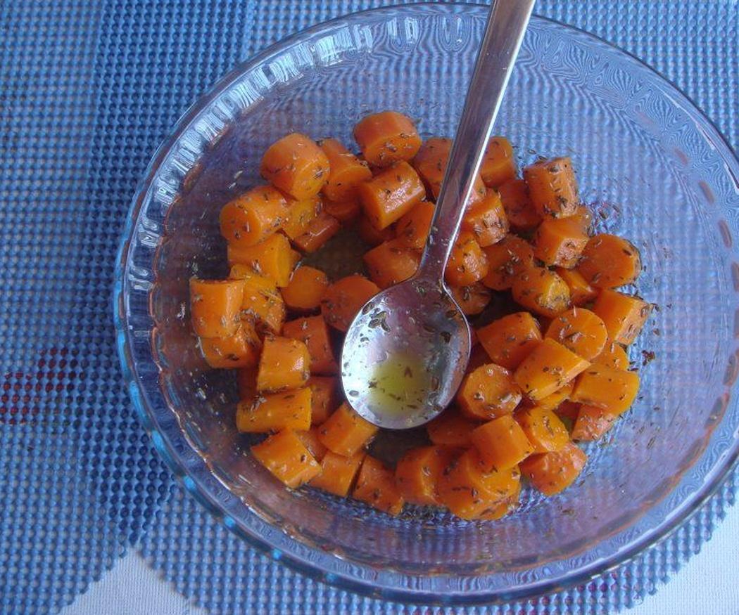 Cómo hacer zanahorias aliñadas