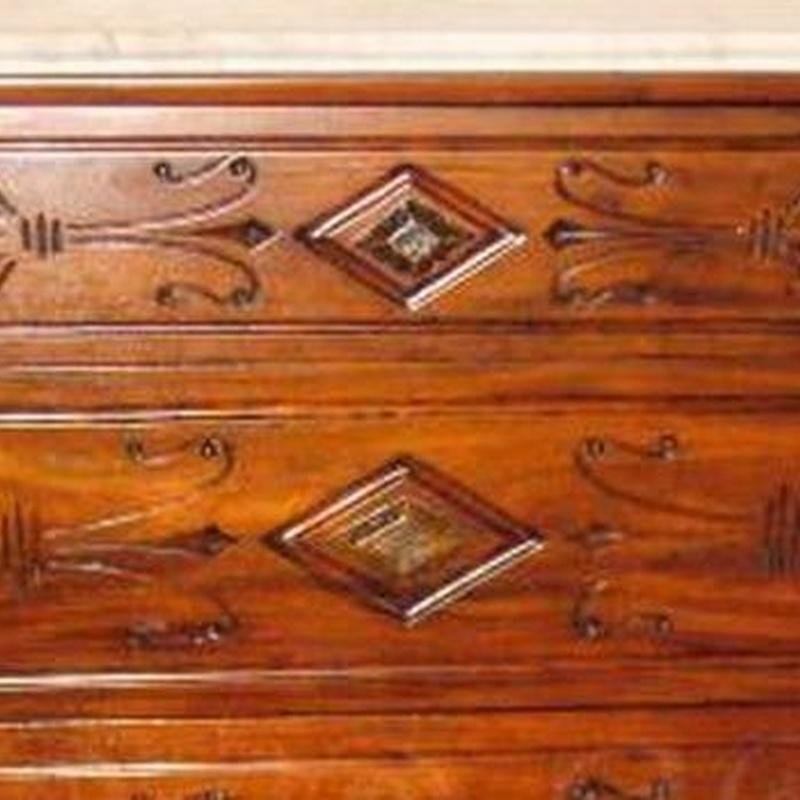 Restauración de cómoda : Catálogo de Eduardo Cortina Capella