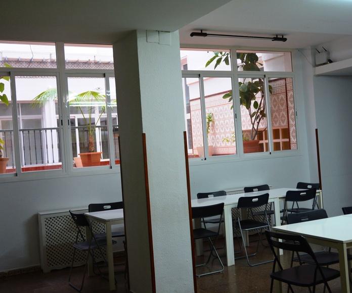 PENSION COMPLETA: RESERVA TU PLAZA  de Residencia de Estudiantes Cádiz Centro