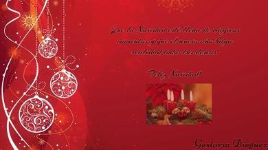 Gestoría Dieguez os desea Feliz Navidad!