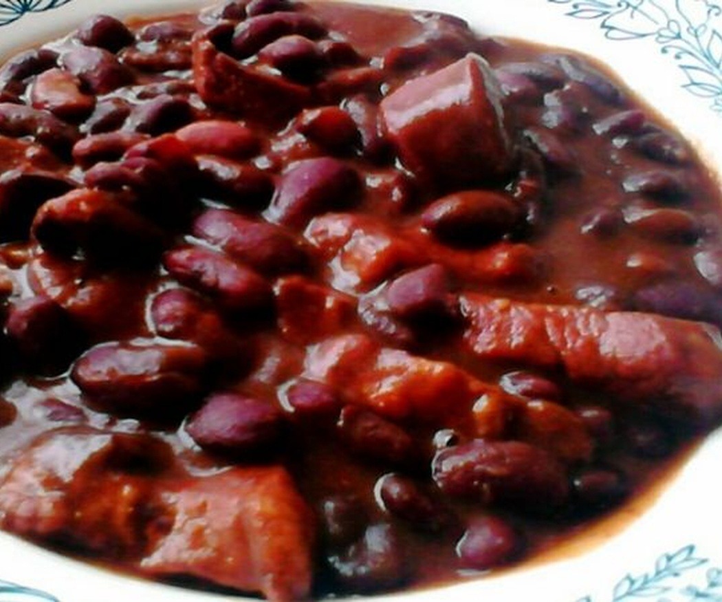 Las alubias y el chuletón de Euskadi