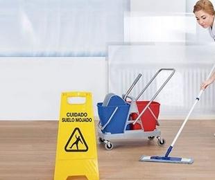 El absentismo laboral en el sector de la limpieza aumenta un 53% en los últimos tres años