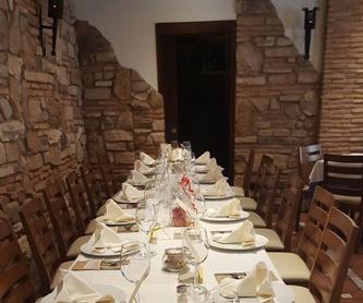 Menú del domingo  17/11/2019: Carta de Rincón de Jaime
