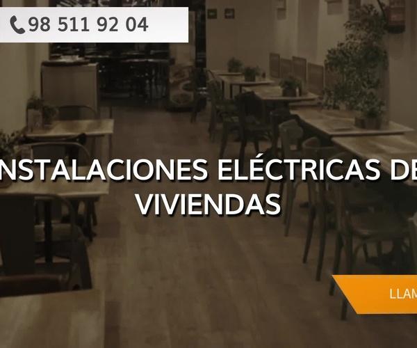 Presupuestos de instalaciones eléctricas en Oviedo | Montelastur