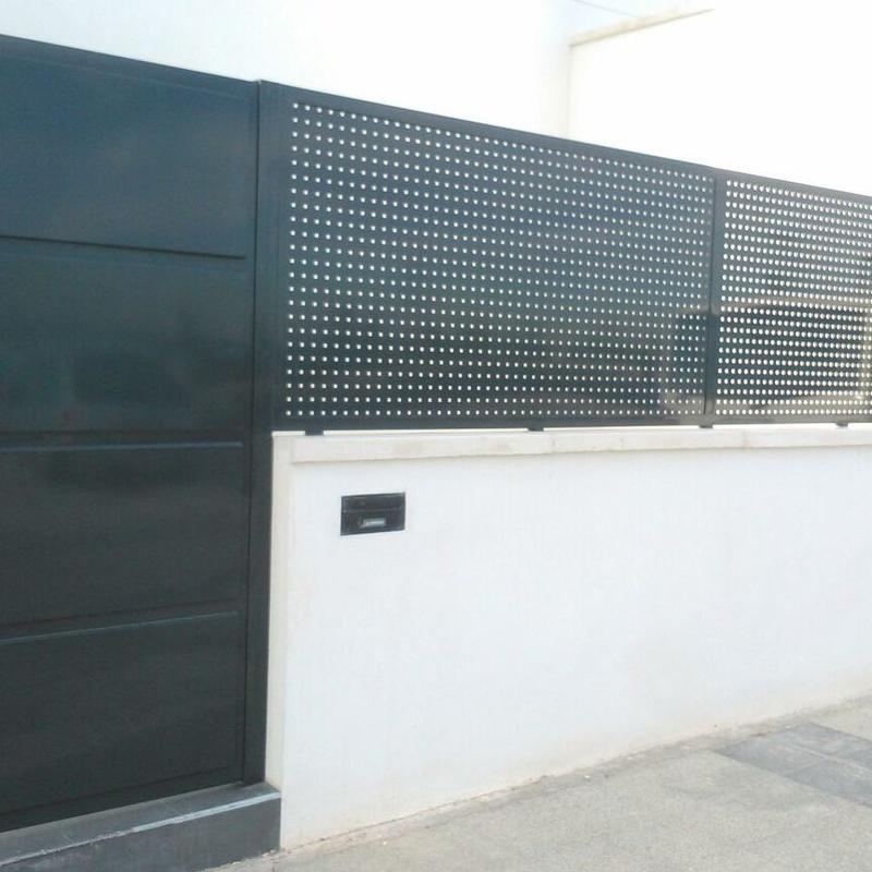 Cerramiento de chalés: Servicios y Productos de Cerrajería Avelino Izquierdo, S.L.