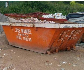 Transporte para construcción e industria: Servicios de Contenedores José Manuel
