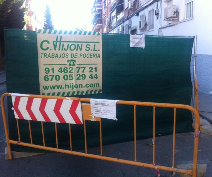 Empresa de construcción y reparación TRAMITACIÓN LICENCIAS CANAL ISABEL II GESTION