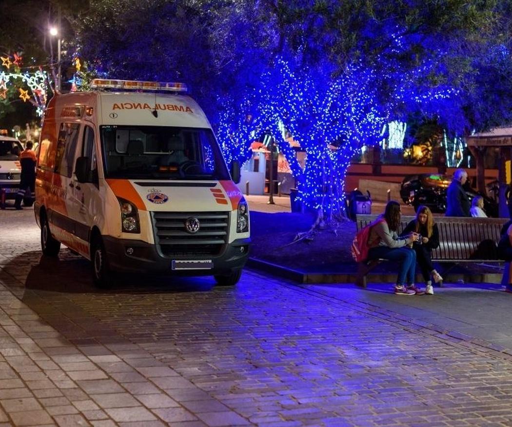La sirena y el nombre al revés en el frontal, dos curiosidades de las ambulancias