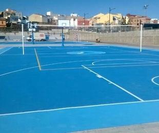 Novedad: Revestimientos multiusos para pistas deportivas en Valencia, Alicante y Castellón