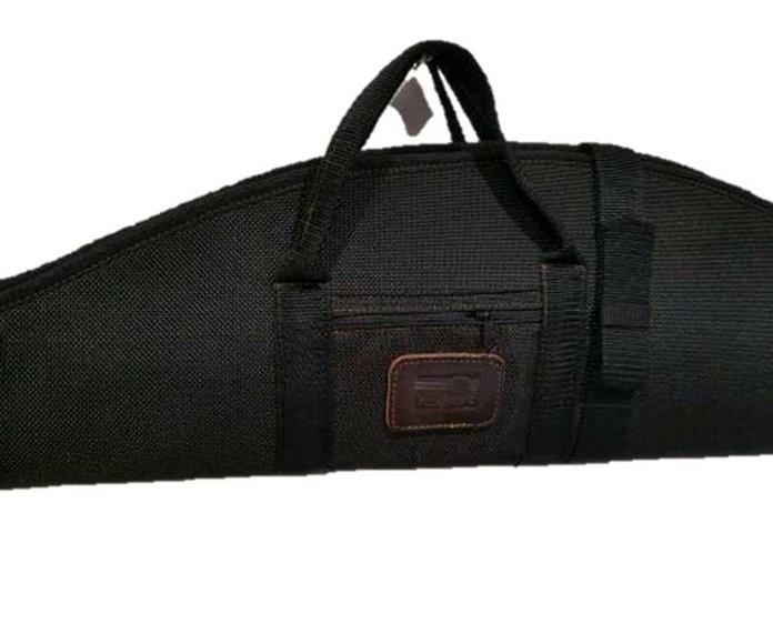 Funda doble mixta para rifle y escopeta en negro: Tienda online de Artículos de Caza