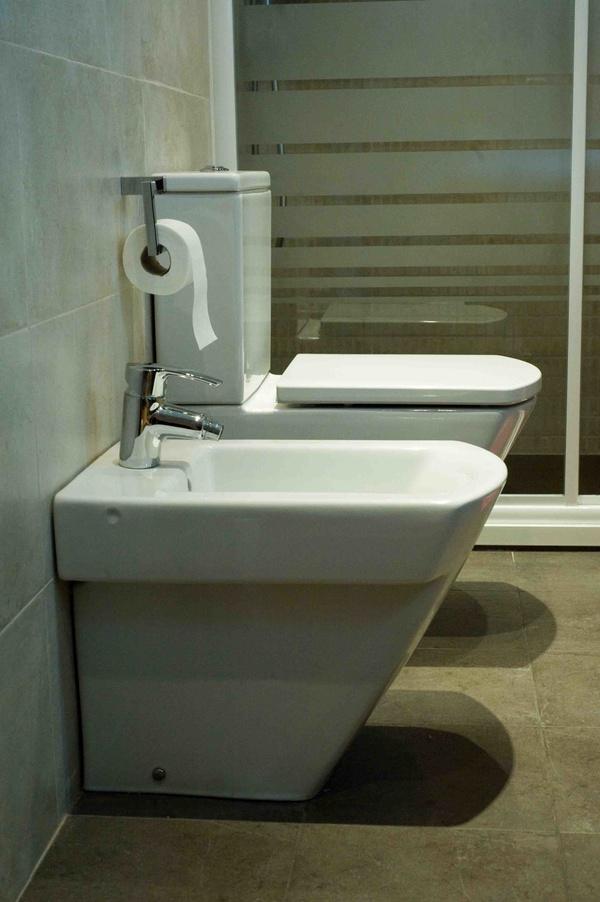 Baños de diseño en Sagrada Familia