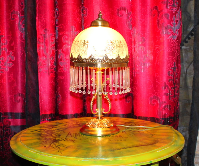 Restauración de lámparas de cristal.: Artículos  de Ruzafa Vintage
