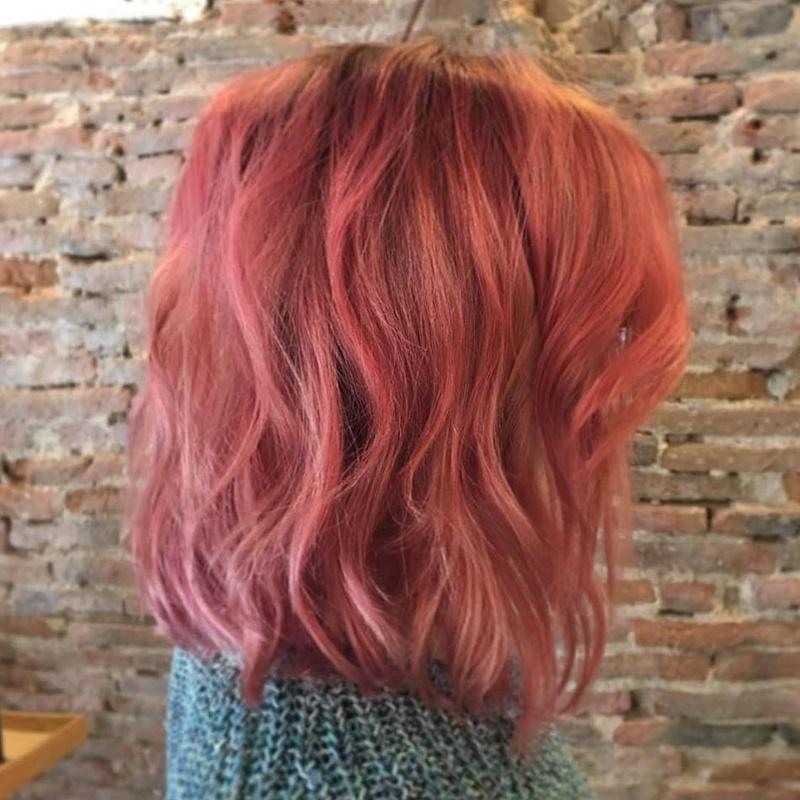 Color- Rose gold- Peluqueria Dzero