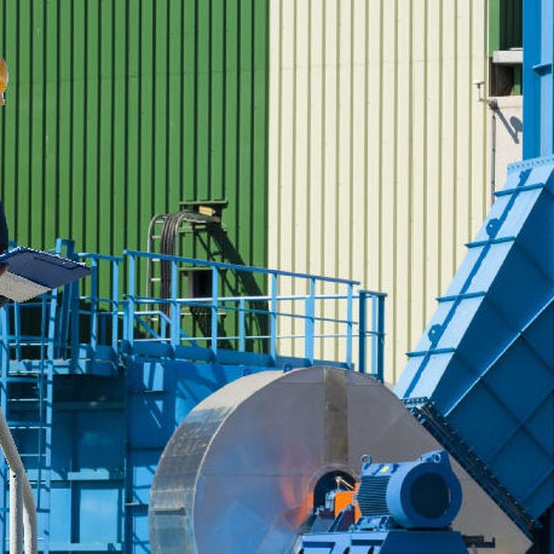 Adecuación de maquinaria : Áreas de actuación  de Previcat