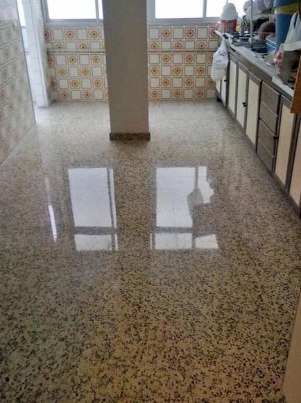 Limpieza final de obra: Servicios de Pulidos y Vitrificados García de la Fuente