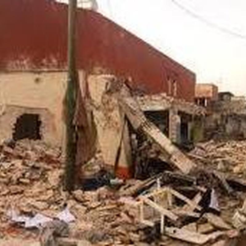 demolición de viviendas