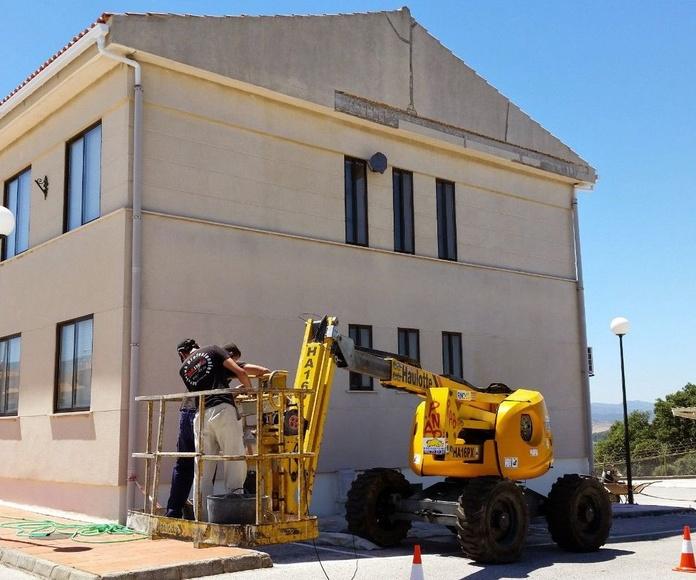 Mainsur - Fachadas y tejados: Servicios de Mainsur