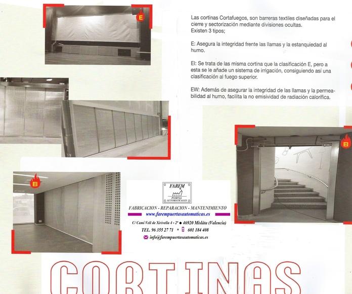 CORTINAS TEXTILES PARA LLAMAS