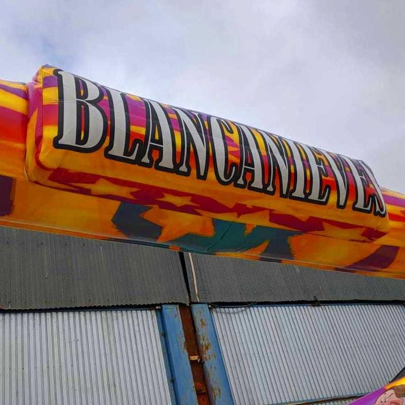 Plataforma Blancanieves : Catálogo de Hinchables Happy Jump