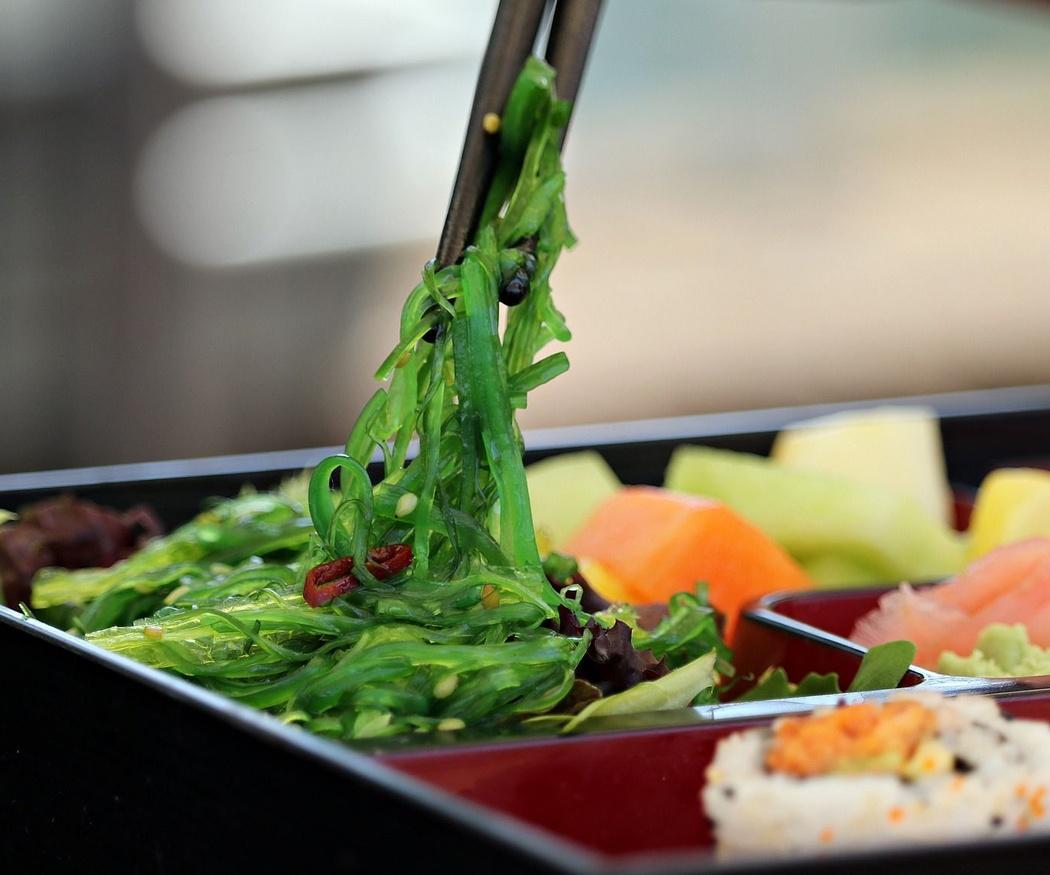 Sushi y otros platos de la gastronomía japonesa