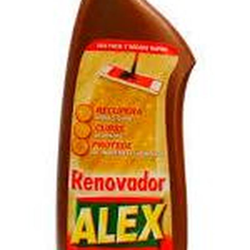 RENOVADOR MADERAS ALEX 900ML. : SERVICIOS  Y PRODUCTOS de Neteges Louzado, S.L.