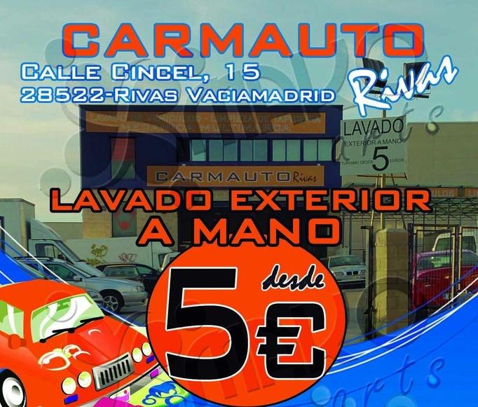 Lavado de vehículos a mano desde 5 €: Nuestros servicios de Carmauto Rivas