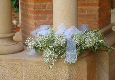 Decoración floral de iglesias.
