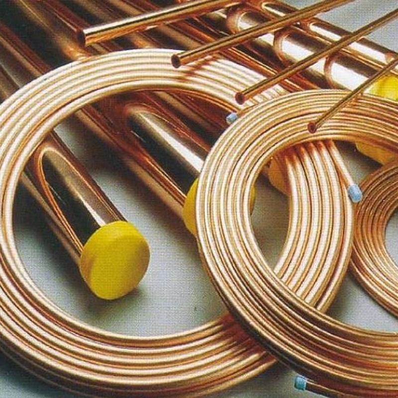 Tubo y piezas de cobre: Productos de Ferretería Baudilio