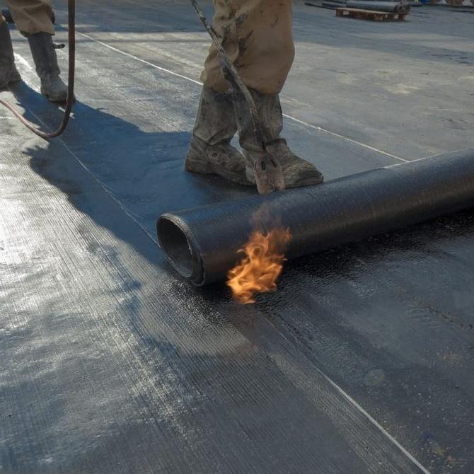 Materiales impermeabilizantes para tejados y terrazas