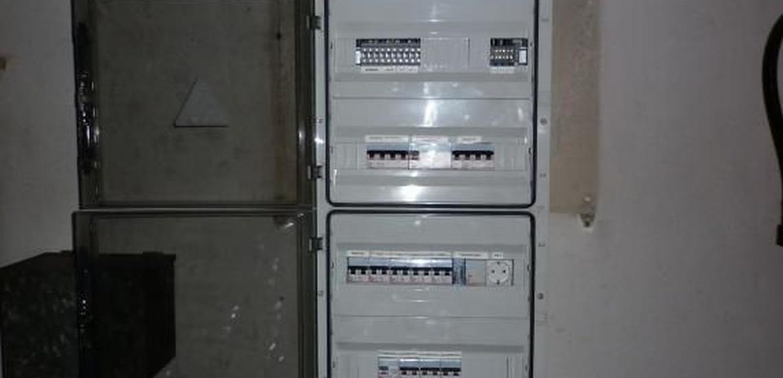 Instalaciones eléctricas en Gijón: cuadro de protección de garaje