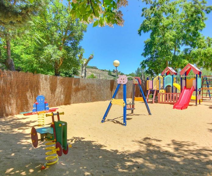 Nuevo parque infantil.