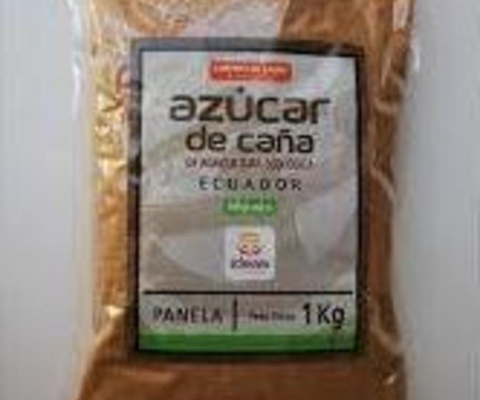 PANELA, IDEAS COMERCIO JUSTO,   (azucar integral de caña): Catálogo de La Despensa Ecológica