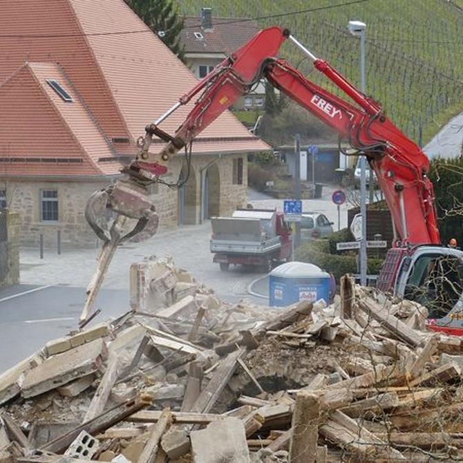 Requisitos que debe cumplir una empresa de demolición