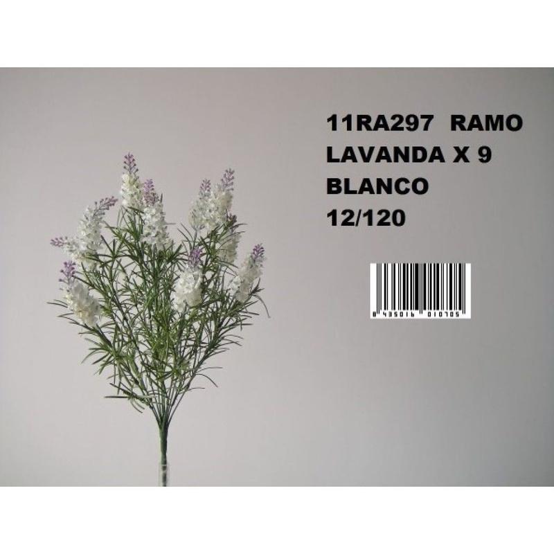 MATA LAVANDA X9. COLOR:BLANCO REF.:11RA297 BLA PRECIO: 3,60 €