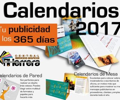 Calendarios y Almanaques, tu publicidad los 365 días