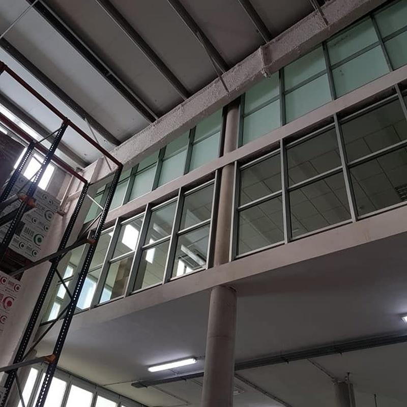 Limpiezas de cristales en altura: Servicios de Pértiga eXtrema