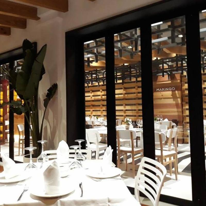 RESERVAS: Nuestros platos de Maringo Restaurante