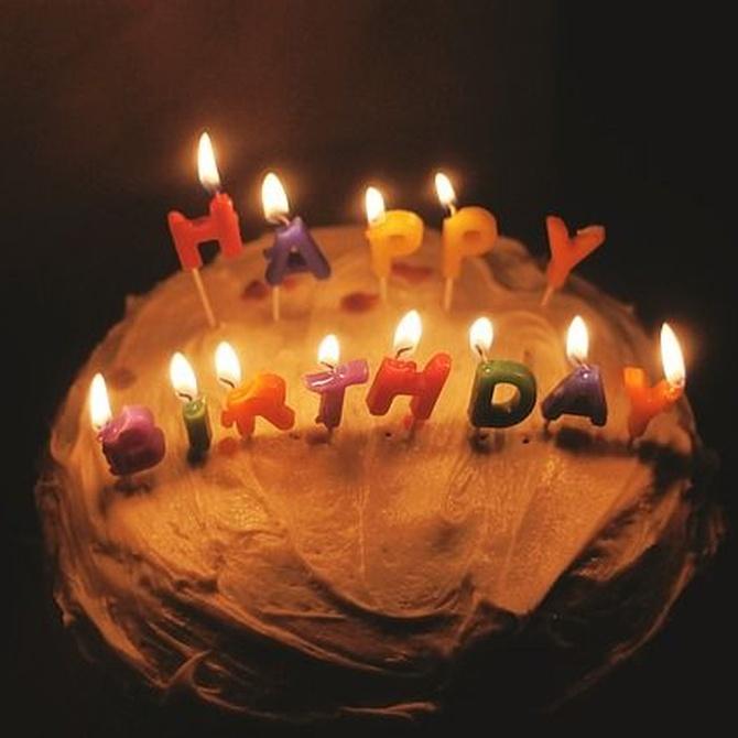 No dejes pasar tu cumpleaños