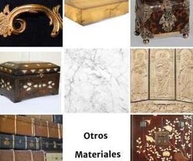 Limpieza de otros materiales