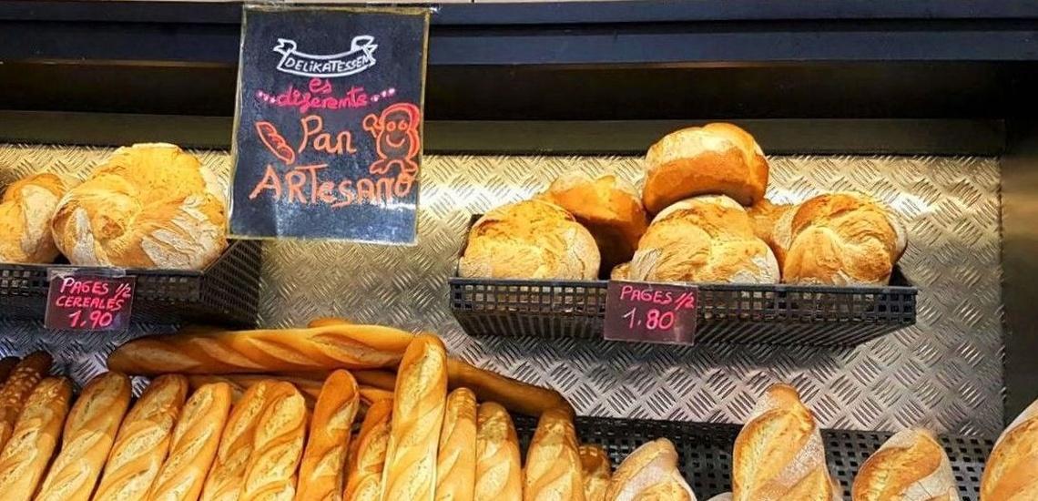 Ven a probar nuestro delicioso y saludable pan artesano en Poliyà