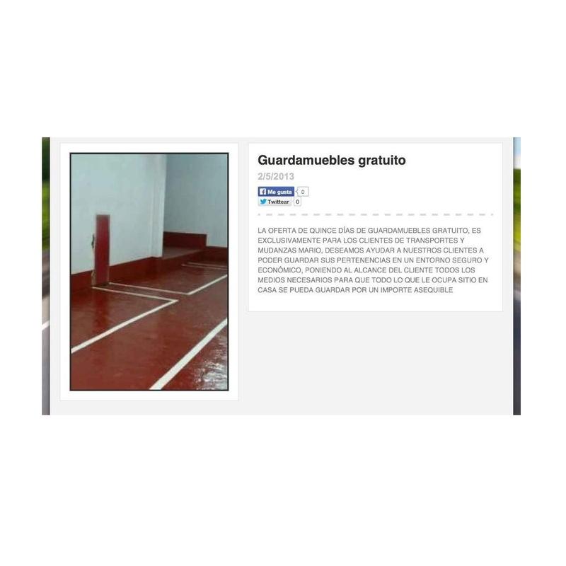 Guardamuebles: Nuestros Servicios de Transportes y Mudanzas Mario