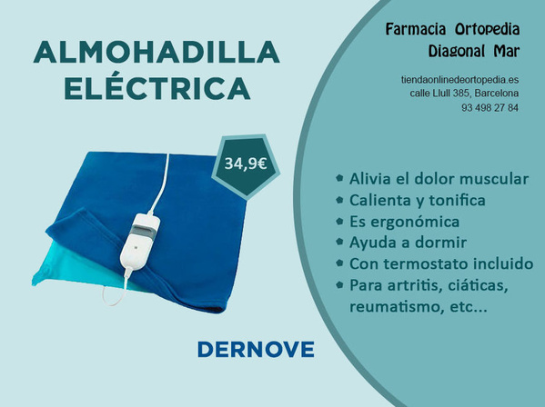 Almohadilla eléctrica Dernove