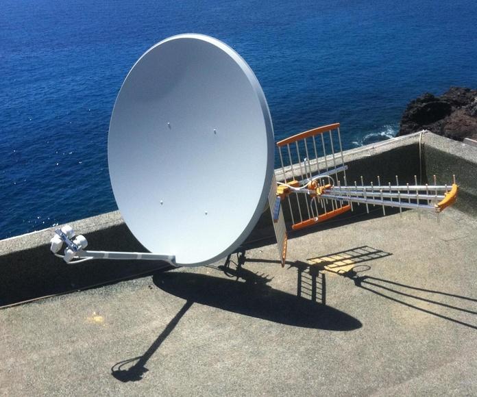 Instalaciones de antenas en Tenerife