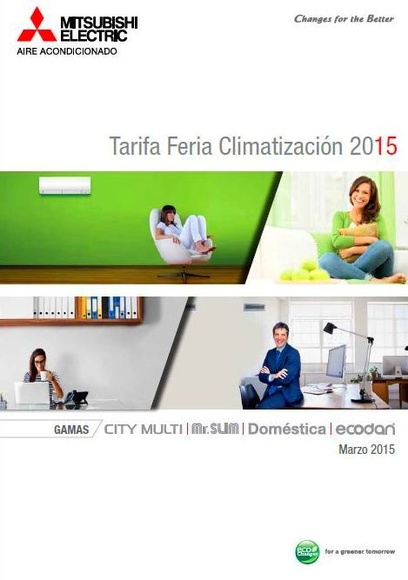 Catalogo Mitsubishi Electric 2015 Madrid