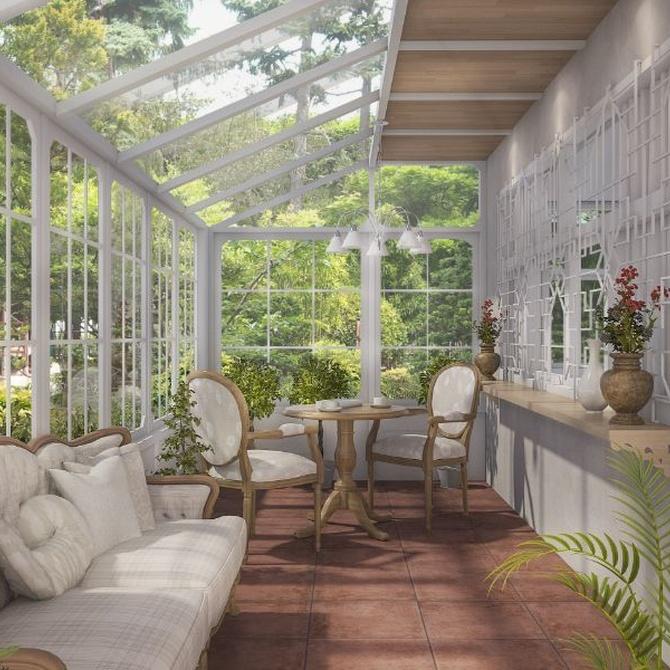 Tipos de cerramientos de cristal para tu terraza