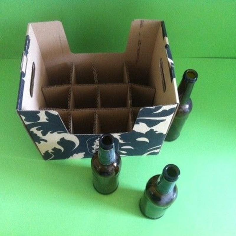 Cajas para cerveza: Catálogo de Cartonajes A. Tolosa, S.L.