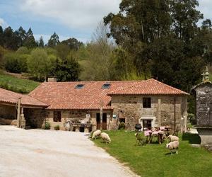 Casa rural de labranza del siglo XVII en Santiago de Compostela