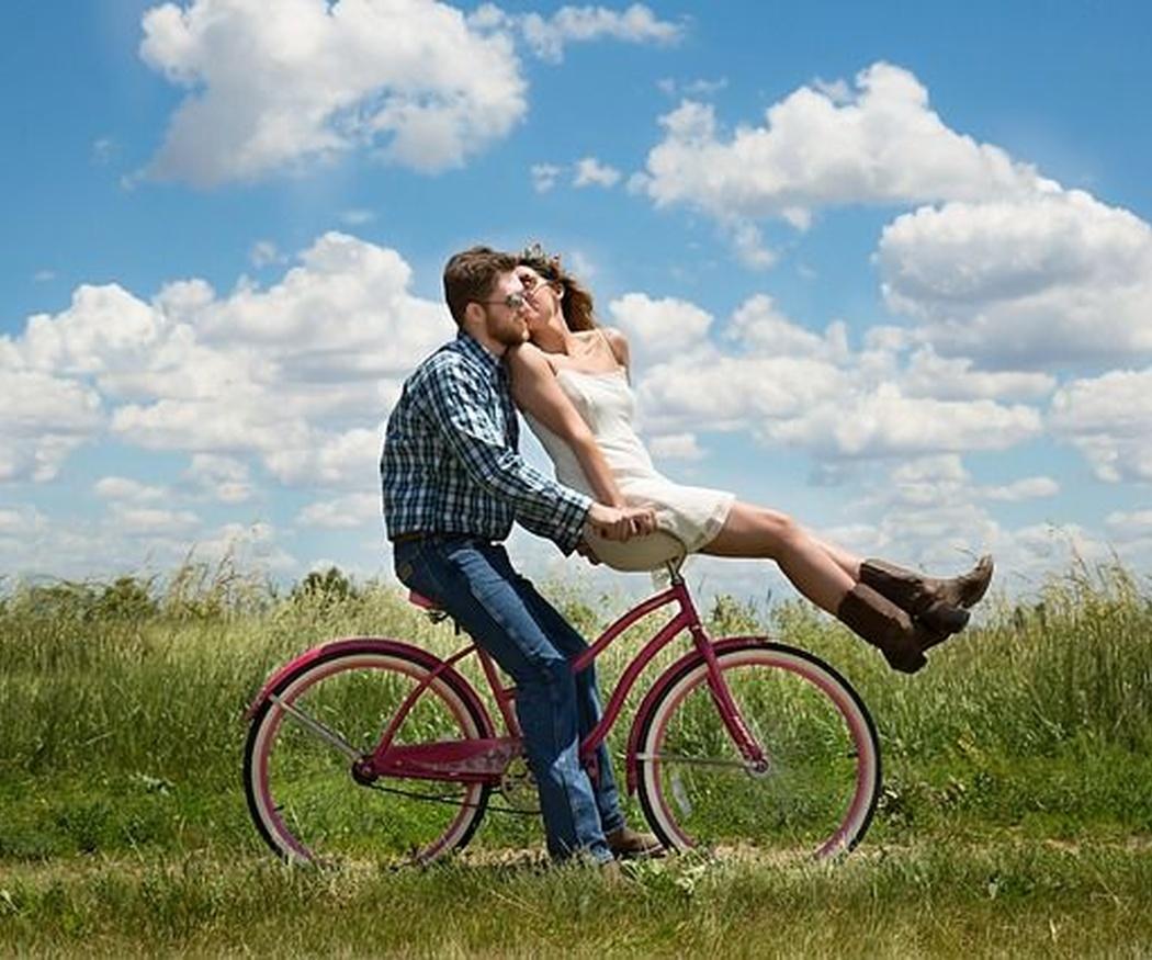 El placer de ir en bicicleta
